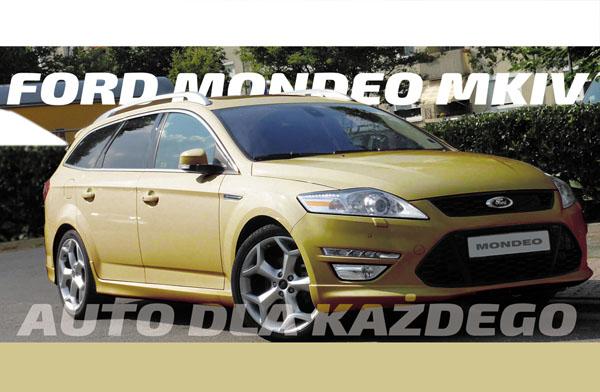 (Auta używane) Ford Mondeo MK IV – Optymalne dla każdego?