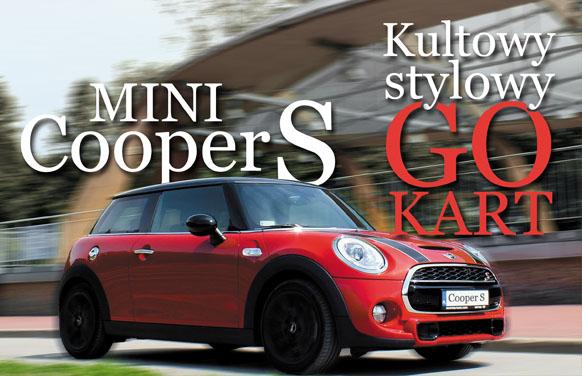 (Auta nowe) Mini Cooper S – Stylowy, kultowy GoKart
